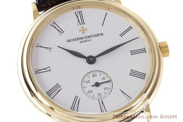 Used luxury watch Vacheron & Constantin * 18 ct gold manual winding Kal. 1014/1 Ref. 92238  | 160566 02