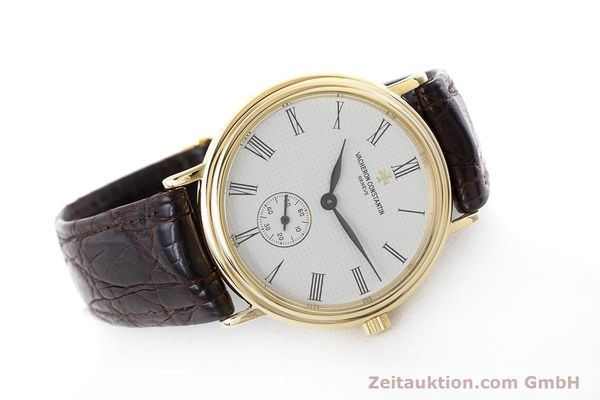 Used luxury watch Vacheron & Constantin * 18 ct gold manual winding Kal. 1014/1 Ref. 92238  | 160566 03
