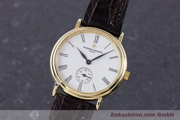 Used luxury watch Vacheron & Constantin * 18 ct gold manual winding Kal. 1014/1 Ref. 92238  | 160566 04