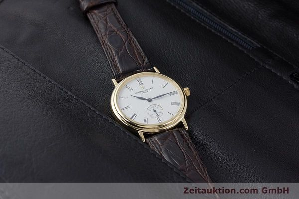 Used luxury watch Vacheron & Constantin * 18 ct gold manual winding Kal. 1014/1 Ref. 92238  | 160566 07