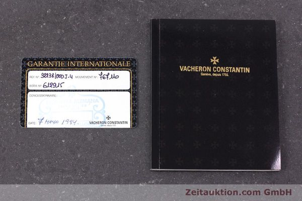 Used luxury watch Vacheron & Constantin * 18 ct gold manual winding Kal. 1014/1 Ref. 92238  | 160566 08