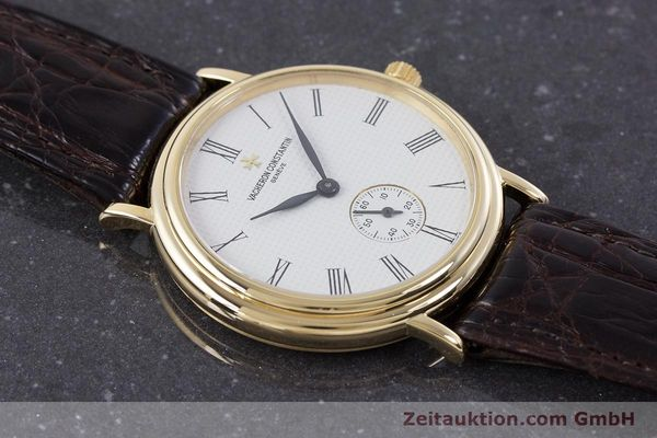Used luxury watch Vacheron & Constantin * 18 ct gold manual winding Kal. 1014/1 Ref. 92238  | 160566 17