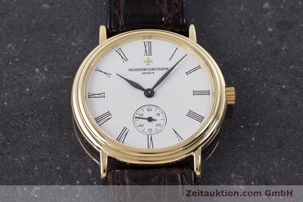 Used luxury watch Vacheron & Constantin * 18 ct gold manual winding Kal. 1014/1 Ref. 92238  | 160566 18