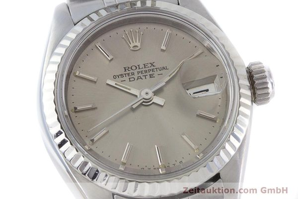 Used luxury watch Rolex Lady Date steel / gold automatic Kal. 2030 Ref. 6917  | 160576 02