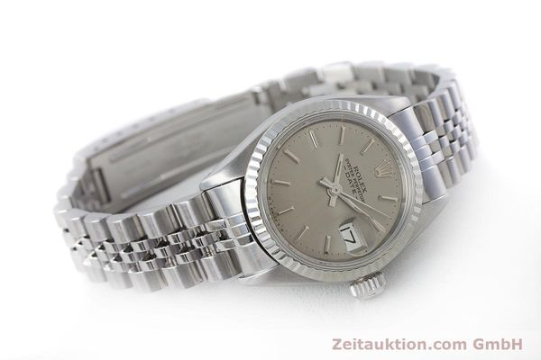Used luxury watch Rolex Lady Date steel / gold automatic Kal. 2030 Ref. 6917  | 160576 03