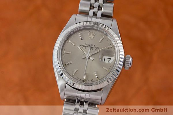Used luxury watch Rolex Lady Date steel / gold automatic Kal. 2030 Ref. 6917  | 160576 04