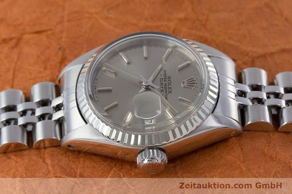 Used luxury watch Rolex Lady Date steel / gold automatic Kal. 2030 Ref. 6917  | 160576 05
