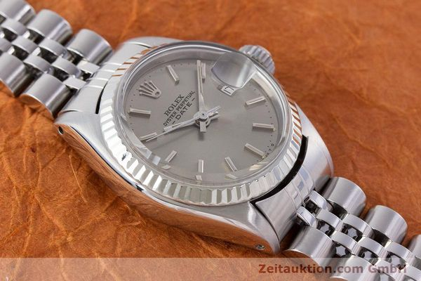 Used luxury watch Rolex Lady Date steel / gold automatic Kal. 2030 Ref. 6917  | 160576 15
