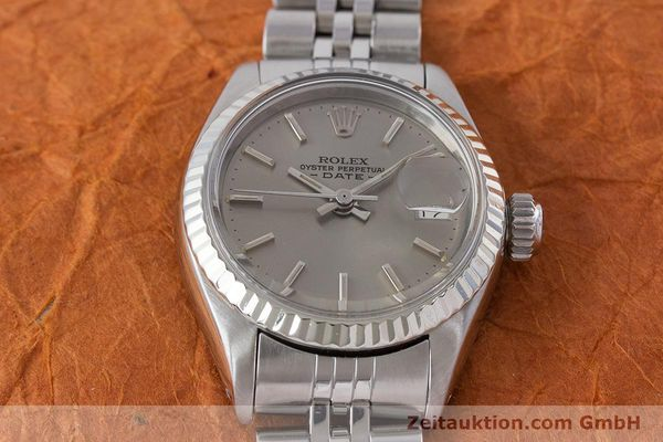 Used luxury watch Rolex Lady Date steel / gold automatic Kal. 2030 Ref. 6917  | 160576 16
