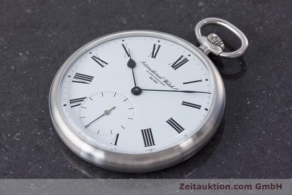 Used luxury watch IWC Pocket Watch steel manual winding Kal. 972 Ref. 5301 VINTAGE  | 160598 01