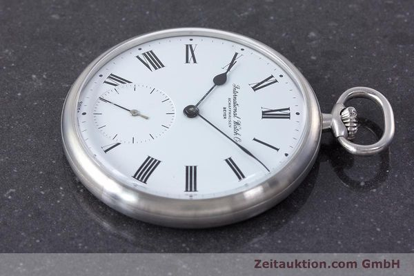 Used luxury watch IWC Pocket Watch steel manual winding Kal. 972 Ref. 5301 VINTAGE  | 160598 03