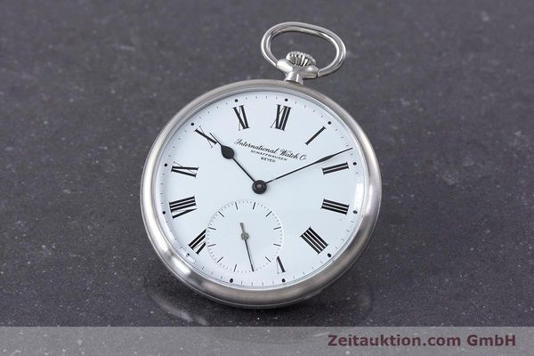 Used luxury watch IWC Pocket Watch steel manual winding Kal. 972 Ref. 5301 VINTAGE  | 160598 04