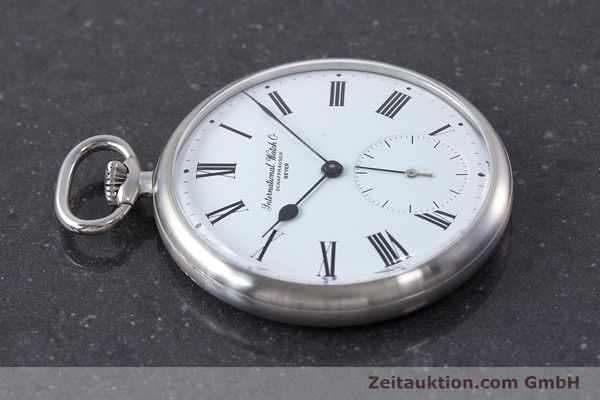 Used luxury watch IWC Pocket Watch steel manual winding Kal. 972 Ref. 5301 VINTAGE  | 160598 05