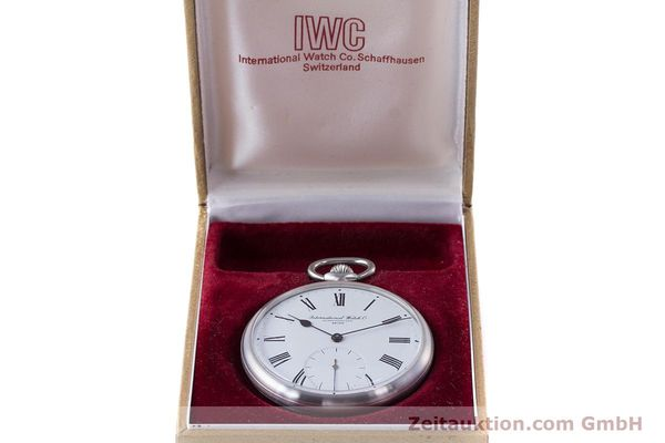 Used luxury watch IWC Pocket Watch steel manual winding Kal. 972 Ref. 5301 VINTAGE  | 160598 07