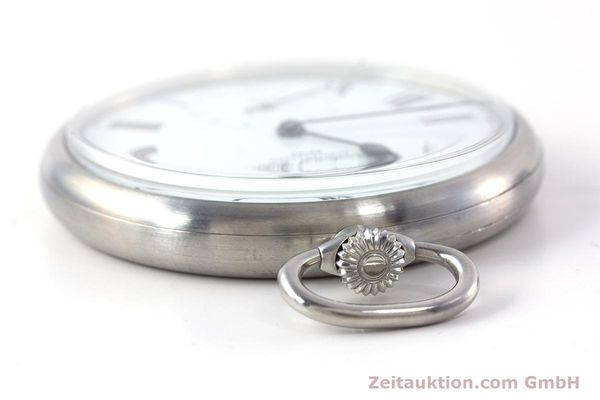 Used luxury watch IWC Pocket Watch steel manual winding Kal. 972 Ref. 5301 VINTAGE  | 160598 09