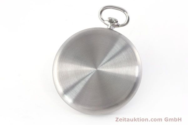 Used luxury watch IWC Pocket Watch steel manual winding Kal. 972 Ref. 5301 VINTAGE  | 160598 12