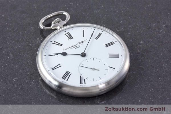 Used luxury watch IWC Pocket Watch steel manual winding Kal. 972 Ref. 5301 VINTAGE  | 160598 14