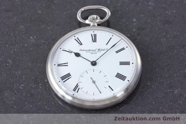 Used luxury watch IWC Pocket Watch steel manual winding Kal. 972 Ref. 5301 VINTAGE  | 160598 15