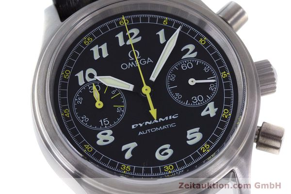 Used luxury watch Omega Dynamic chronograph steel automatic Kal. 1138  | 160603 02