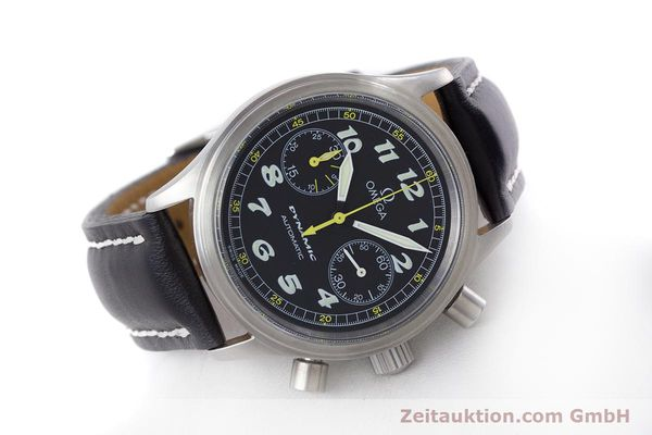 Used luxury watch Omega Dynamic chronograph steel automatic Kal. 1138  | 160603 03