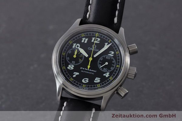 Used luxury watch Omega Dynamic chronograph steel automatic Kal. 1138  | 160603 04