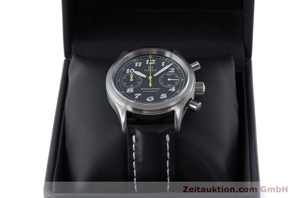 Used luxury watch Omega Dynamic chronograph steel automatic Kal. 1138  | 160603 07