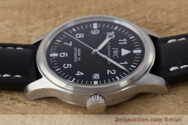 Used luxury watch IWC Mark XV steel automatic Kal. 30110 Ref. 3253  | 160604 05