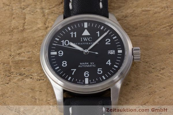 Used luxury watch IWC Mark XV steel automatic Kal. 30110 Ref. 3253  | 160604 16