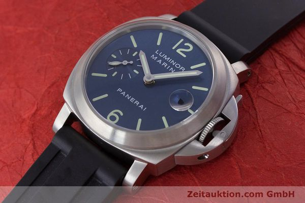 Used luxury watch Panerai Luminor Marina steel automatic Kal. A 05511 Ref. OP6560  | 160609 01