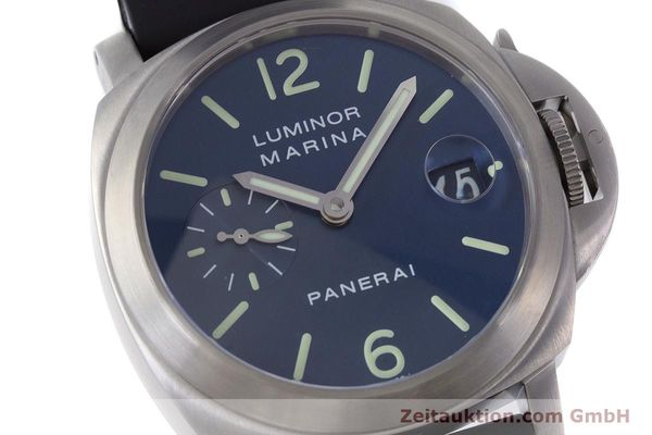 Used luxury watch Panerai Luminor Marina steel automatic Kal. A 05511 Ref. OP6560  | 160609 02