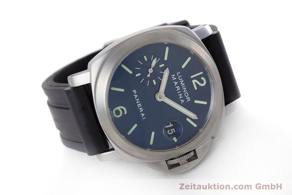 Used luxury watch Panerai Luminor Marina steel automatic Kal. A 05511 Ref. OP6560  | 160609 03