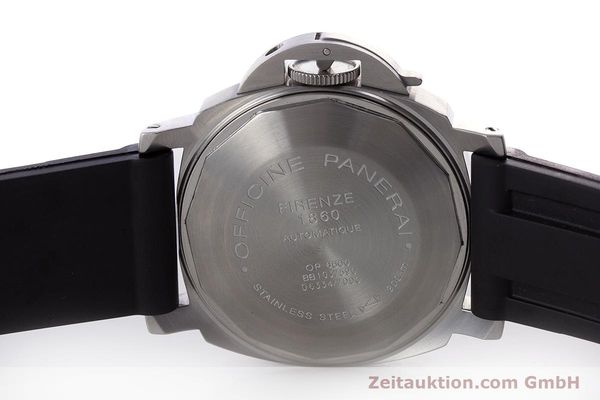 Used luxury watch Panerai Luminor Marina steel automatic Kal. A 05511 Ref. OP6560  | 160609 10