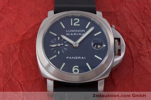 Used luxury watch Panerai Luminor Marina steel automatic Kal. A 05511 Ref. OP6560  | 160609 16