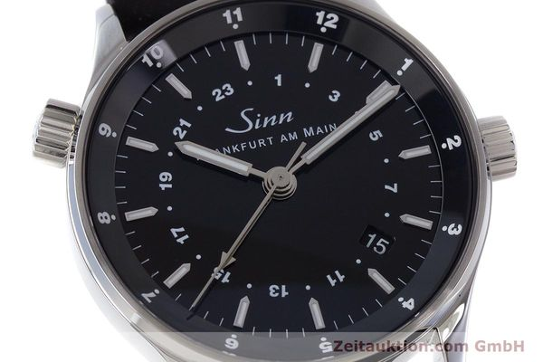 Used luxury watch Sinn 6060 steel automatic Kal. ETA2893-2  | 160615 02
