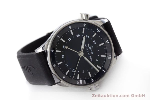 Used luxury watch Sinn 6060 steel automatic Kal. ETA2893-2  | 160615 03