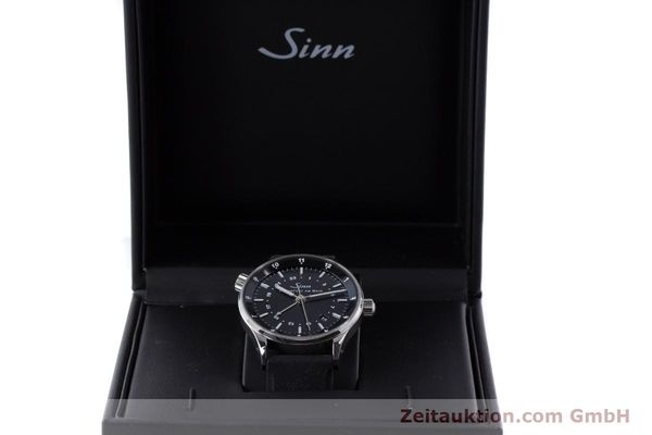 Used luxury watch Sinn 6060 steel automatic Kal. ETA2893-2  | 160615 07