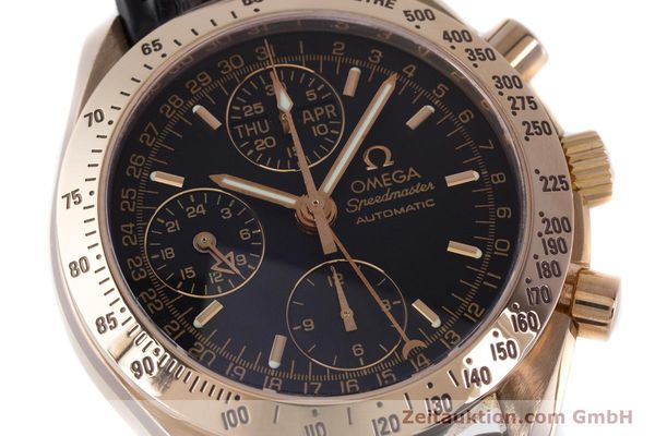 Used luxury watch Omega Speedmaster chronograph 18 ct red gold automatic Kal. 1151  | 160619 02