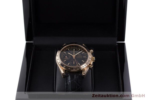 Used luxury watch Omega Speedmaster chronograph 18 ct red gold automatic Kal. 1151  | 160619 07