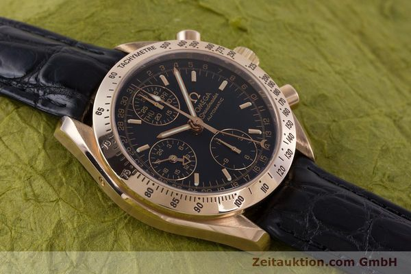 Used luxury watch Omega Speedmaster chronograph 18 ct red gold automatic Kal. 1151  | 160619 15