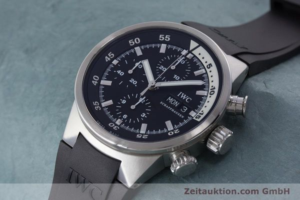 Used luxury watch IWC Aquatimer chronograph steel automatic Kal. 79320 Ref. 3719  | 160633 01