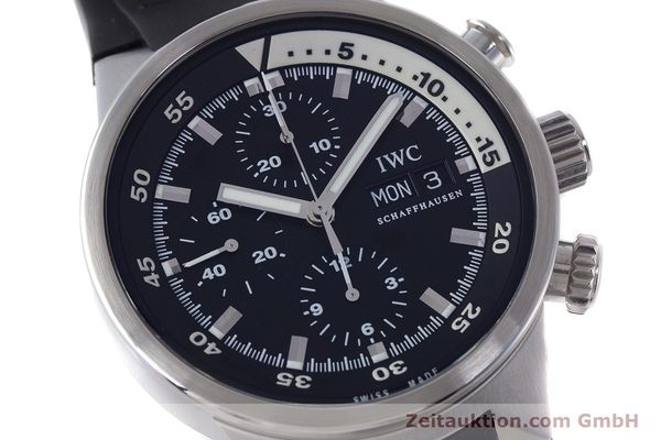 Used luxury watch IWC Aquatimer chronograph steel automatic Kal. 79320 Ref. 3719  | 160633 02