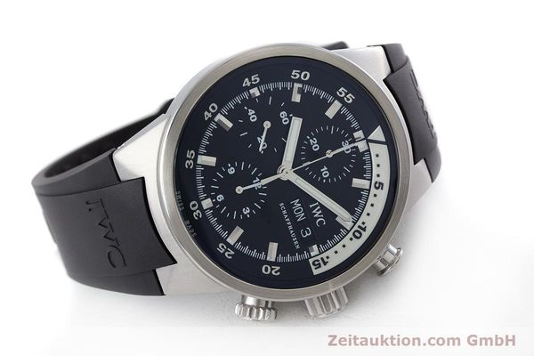 Used luxury watch IWC Aquatimer chronograph steel automatic Kal. 79320 Ref. 3719  | 160633 03