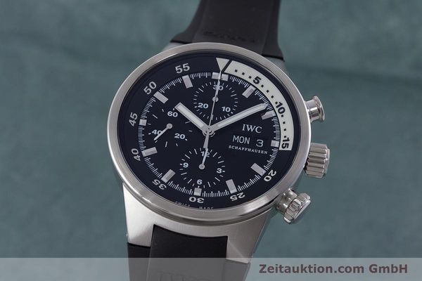 Used luxury watch IWC Aquatimer chronograph steel automatic Kal. 79320 Ref. 3719  | 160633 04