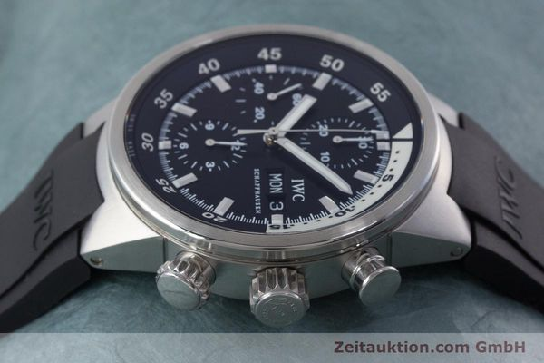 Used luxury watch IWC Aquatimer chronograph steel automatic Kal. 79320 Ref. 3719  | 160633 05