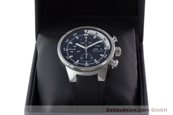 Used luxury watch IWC Aquatimer chronograph steel automatic Kal. 79320 Ref. 3719  | 160633 07