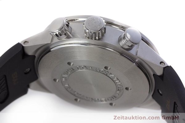 Used luxury watch IWC Aquatimer chronograph steel automatic Kal. 79320 Ref. 3719  | 160633 11