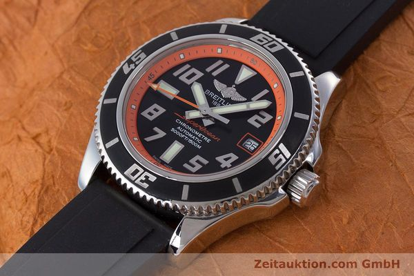 Used luxury watch Breitling Superocean steel automatic Kal. B17 ETA 2824-2 Ref. A17364 LIMITED EDITION | 160639 01