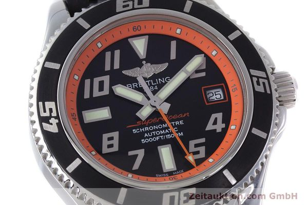 Used luxury watch Breitling Superocean steel automatic Kal. B17 ETA 2824-2 Ref. A17364 LIMITED EDITION | 160639 02