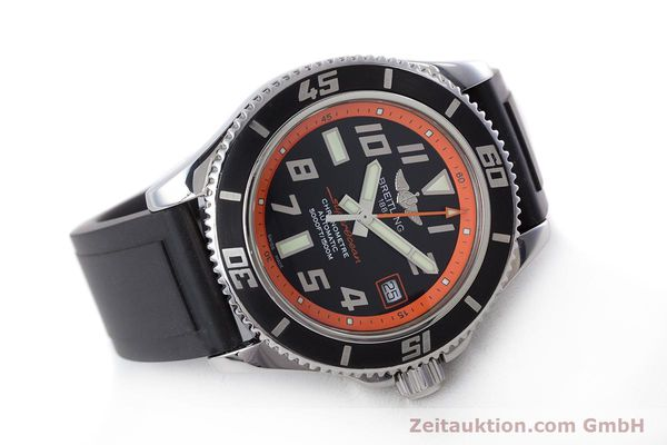 Used luxury watch Breitling Superocean steel automatic Kal. B17 ETA 2824-2 Ref. A17364 LIMITED EDITION | 160639 03