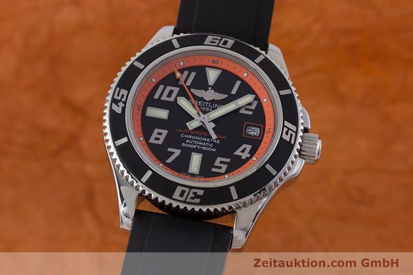 Used luxury watch Breitling Superocean steel automatic Kal. B17 ETA 2824-2 Ref. A17364 LIMITED EDITION | 160639 04